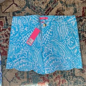 NWT Lilly Pulitzer stretch short Size 8